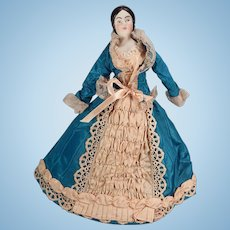 Lovely Parian type doll made by Anna Mae