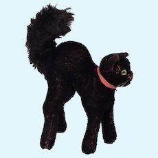 Dear Little Steiff Black Cat to Adopt.