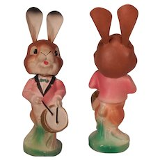 Cute German Bobble-head Easter Rabbit
