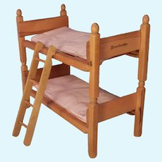 Very cute Strombecker Bunk Beds for your Vogue Ginny doll