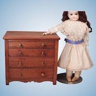 Wonderful Antique doll Dresser
