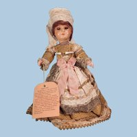 Interesting French composition doll Circa WWI