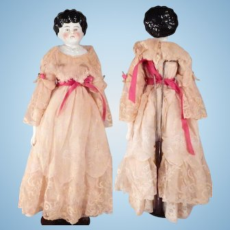 Nice Pet Name China head with pretty dress
