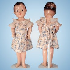 Large Patsy type Composition Doll in original dress.