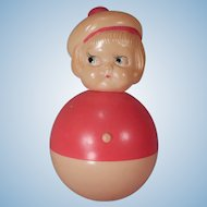 Cute Celluloid Roy Poly Rattle