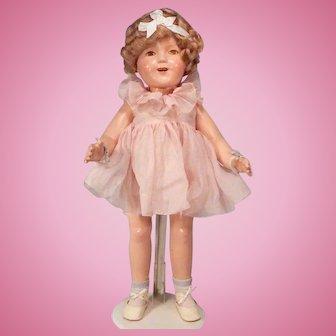 Big,Beautiful All Original Ideal Shirley Temple doll
