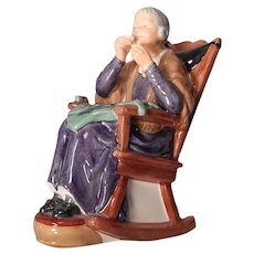 Neat Stitch In Time figurine by Royal Doulton