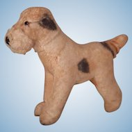 Darling much loved vintage Terrier for your doll