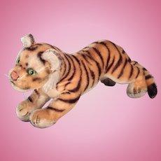 Sweet Steiff running Tiger cub