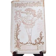 """Really Nice Raphael Tuck """"Lordly Lionel"""" Paper doll with outfits"""