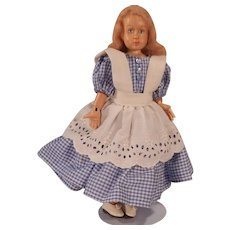 Darling little Completely Jointed Artist made Doll.