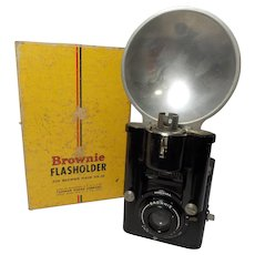 Vintage Brownie Flash Six-20 with Flash Gun