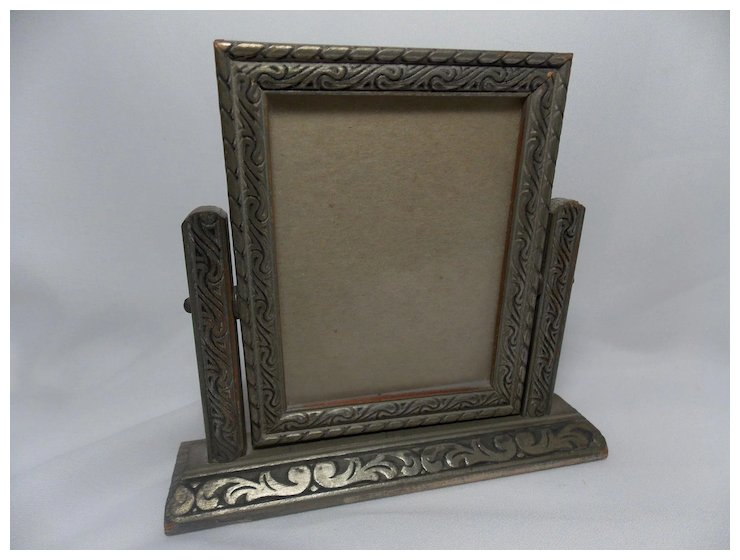 Vintage Small Silver Swivel Frame on a Stand : Ma Price\'s Attic ...