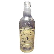 Vintage early 50's Frostie Old Fashion Root Beer Bottle