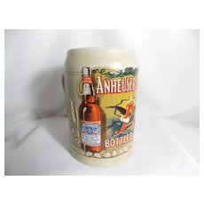 Vintage C Series Budweiser Bottled Beer Stein