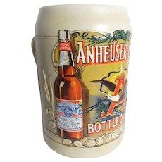 Vintage C Series Budweiser Bottled Beer Stein