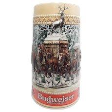 "Budweiser ""Grant's Farm Gates"" Holiday Stein"