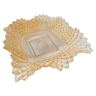 Vintage Square Diamond Point Dish