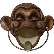 Treasure Craft Monkey Ashtray