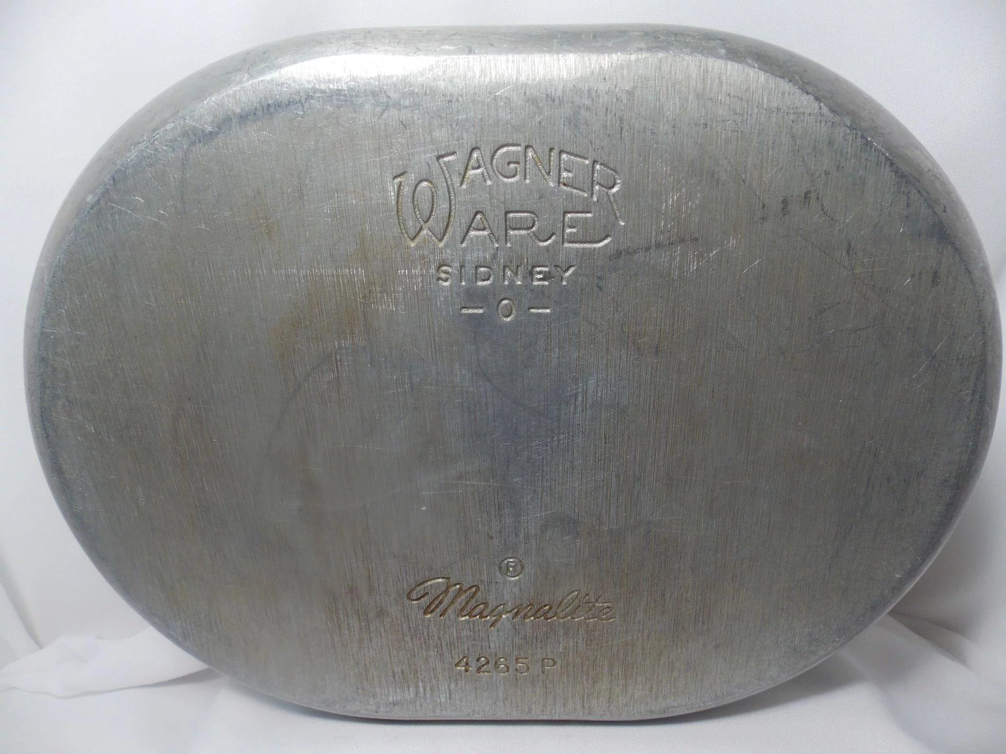 Vintage wagner ware magnalite 4265 p roaster pan with lid click to expand