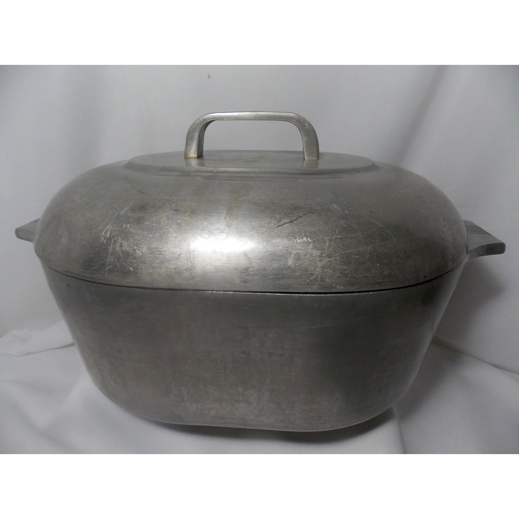 Vintage wagner ware magnalite 4265 p roaster pan with lid ma prices attic ruby lane