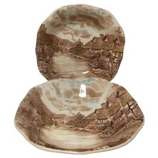 Johnson Brothers Olde English Countryside Soup Bowls