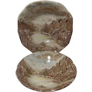 .Vintage Johnson Brothers Olde English Countryside Cereal Bowl and Fruit Bowl
