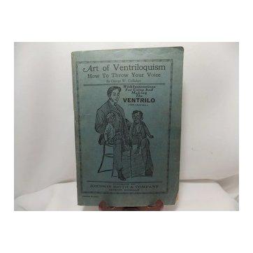 Johnson Smith & Company Catalog & Art of Ventriloquism booklet
