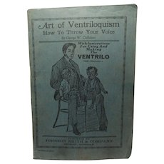 Johnson Smith & Company Catalog & Art of Ventriloquism booklet