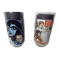 Vintage Burger King Star War Collector Glasses
