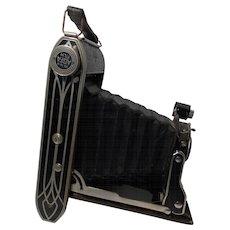 1935 Agfa Art Deco PD 16 Tri Par Folding camera