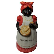 Mammy/Aunt Jemima Bell Souvenir marked New Orleans