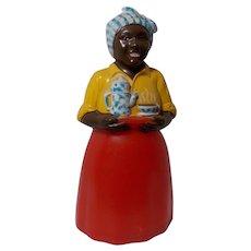Vintage Rare Black Woman Salt Shaker - Red Tag Sale Item