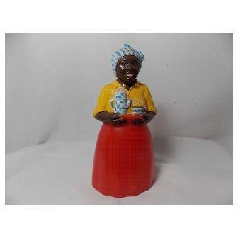 Vintage Rare Black Woman Salt Shaker