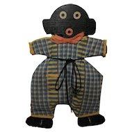 Vintage Hand Crafted Black Memorabilia Wooden Key Rack, Towel Rack, Potholder