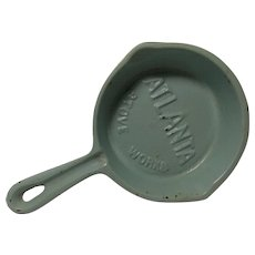 Vintage Atlanta Stove Works Cast Iron Skillet Ash Tray