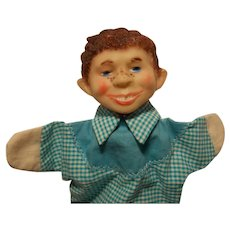 Rare Mad Magazine Alfred E Neuman Hand Puppet by Storyland Puppets