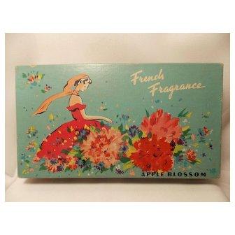 Vintage 5 piece Lander French Fragrance Apple Blossom