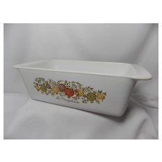 Corning Ware La Marjolaine (Spice of Life) Loaf Pan
