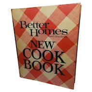 1976 Better Home and Gardens  New Cookbook