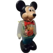 1978 Vintage Wind up Mickey Mouse with Gears