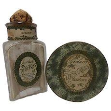 Vintage Djer Kiss Sachet and Djer Kiss Parfum Powder
