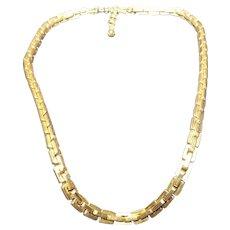 Chain Monet Gold Jewelry Ruby Lane