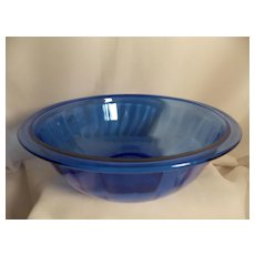 Vintage Cobalt Blue Pyrex 325 Nesting Mixing Bowl
