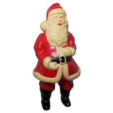 Vintage 1050's Celluloid Lighted Santa Claus
