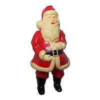 Vintage 1950's Celluloid Lighted Santa Claus