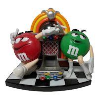 M&M's Rockin' Roll Cafe Jukebox Candy Dispenser