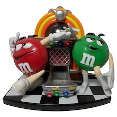 M&M's Rockin' Roll Cafe Jukebox Candy Dispenser