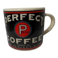 Vintage 1992 Yesteryear Perfect Coffee Advertising Mug