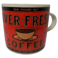 Vintage 1992 Yesteryear Ever-Fresh Advertising Mug